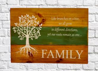 Family Tree Green