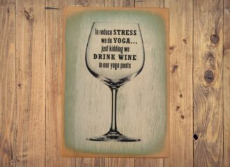 Drink Wine In Our Yoga Pants – Green