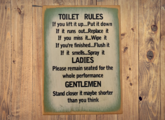 Toilet Rules – Green