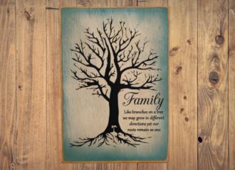 Family Tree – Blue