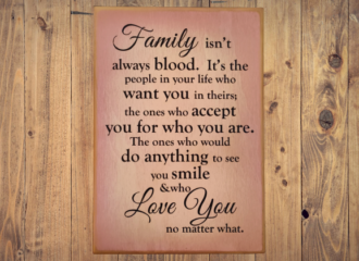 Family Blood – Purple