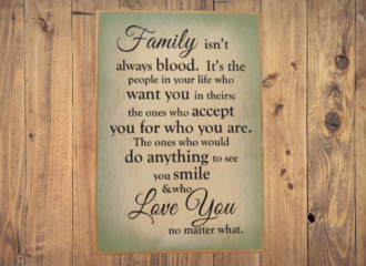 Family Blood – Green