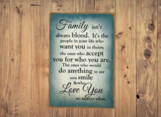 Family Blood – Blue