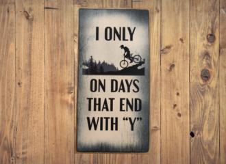 Y Days – Biking